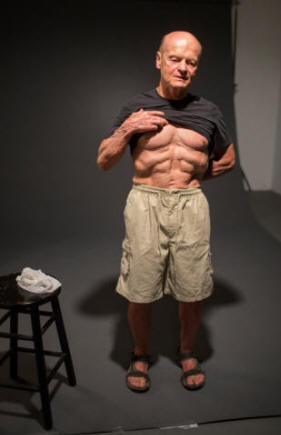 +70 Yr Old Grain Eater vs. Anti-Grain Clarence%20Bass%20by%20Laszlo%20Bencze%20at%2075%20in%20shorts